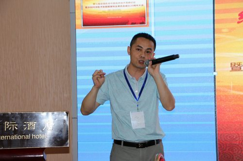 张剑锋在第七届全国名老中医临床技术高峰论坛上