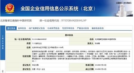 五绝指针中医研究院在京成立